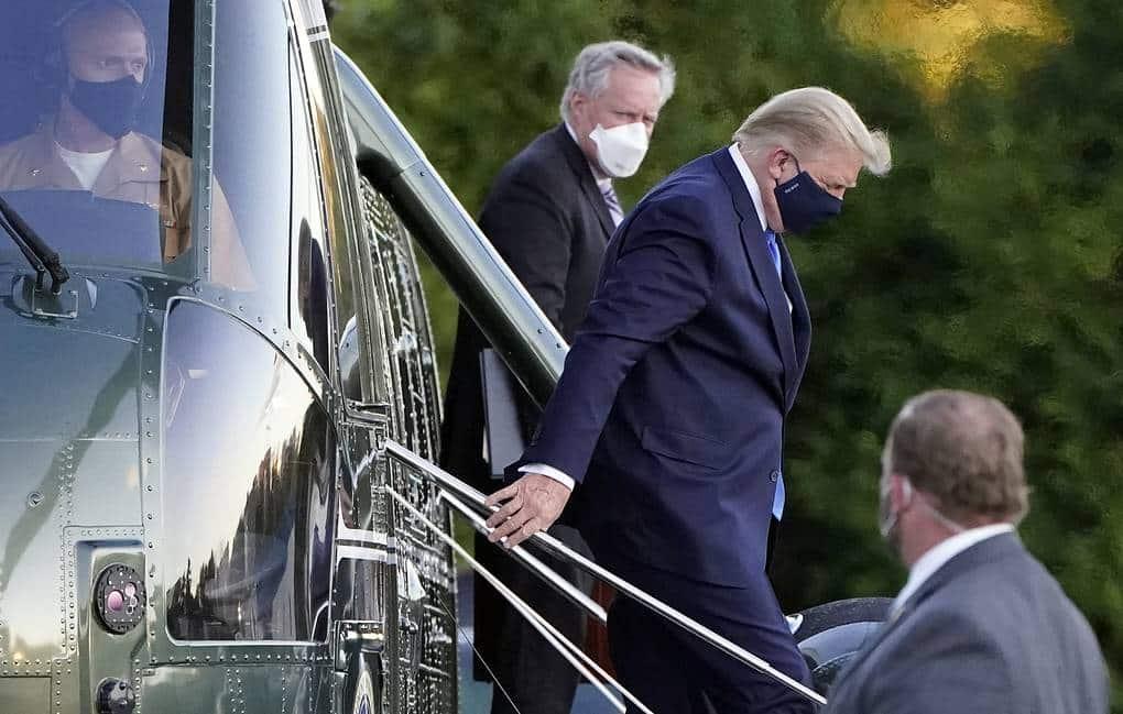 Трампа выписали из клиники для продолжения лечения в домашних условиях