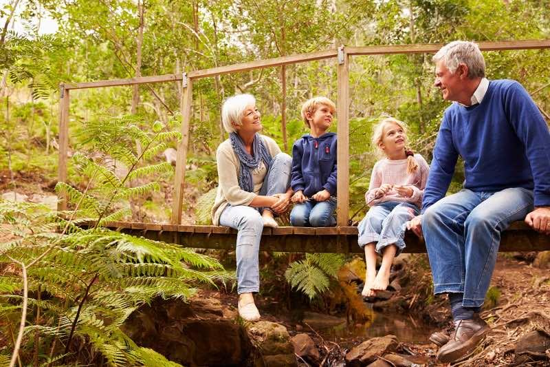 В Госдуме хотят узаконить проживание внуков с бабушками и дедушками
