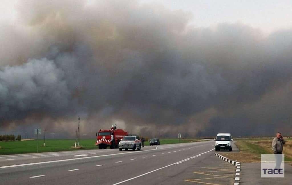После взрывов возле Рязани пострадало 13 человек
