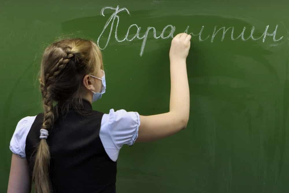 Более 110 школ в России закрыты на карантин, сообщили в Минобразования