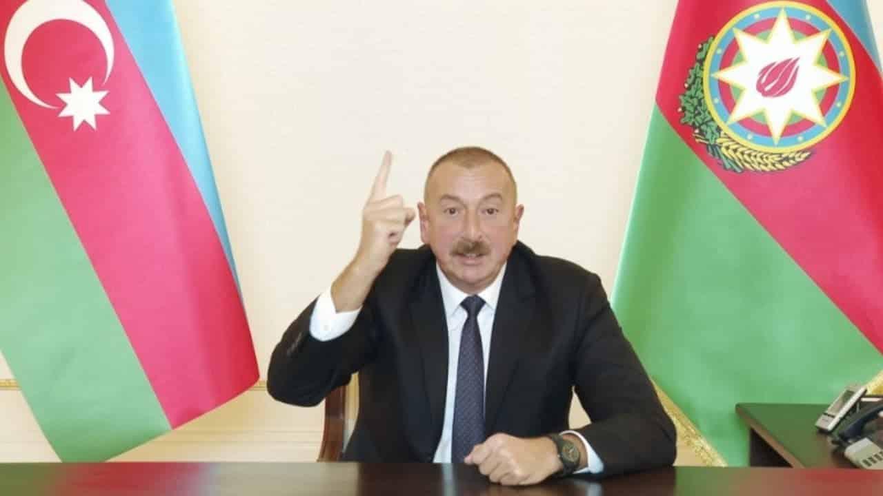 Президент Азербайджана Алиев потребовал от Армении представить план выхода из Нагорного Карабаха