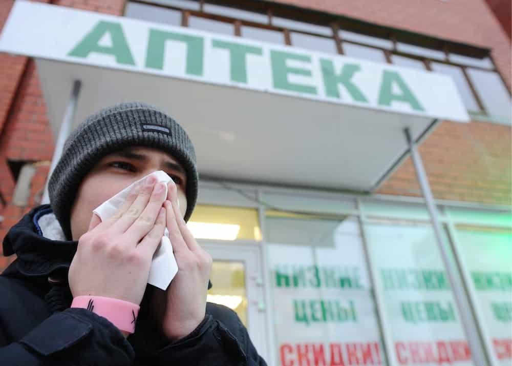 В Москве начался сезон гриппа раньше прогнозируемого срока
