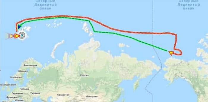 Военный корабль Норвегии несколько раз нарушил российскую границу