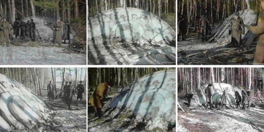 С части документов КГБ, касающихся крушения НЛО сняли гриф секретности