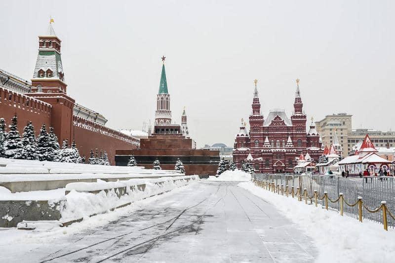 Доступ на Красную площадь в новогоднюю ночь 2021 года будет ограничен
