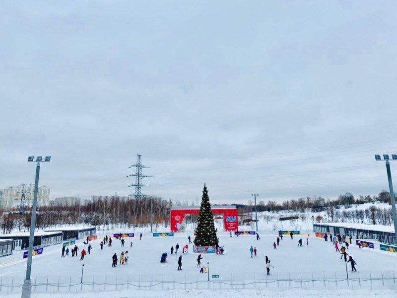 Особенности графика работы катков в Москве зимой 2020-2021 года