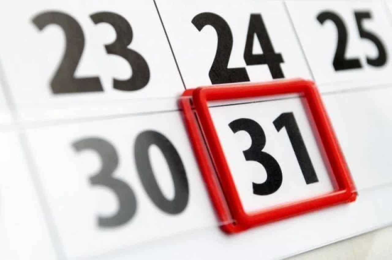 В России 31 декабря 2020 года объявлен официальным выходным
