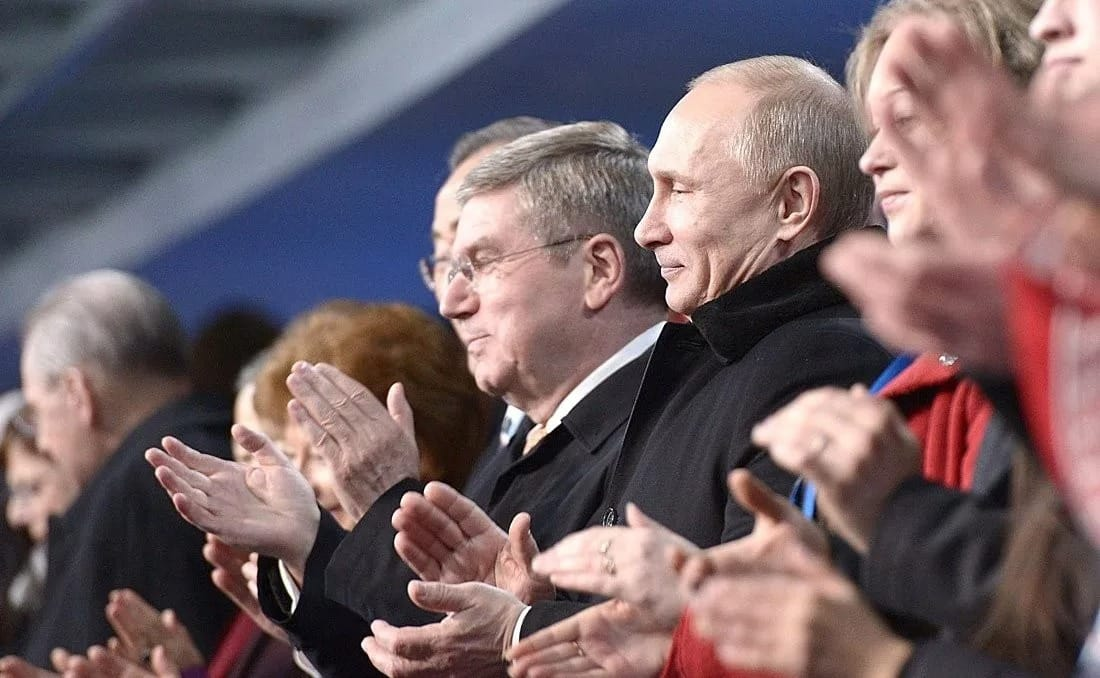 Путину и российским чиновникам запретили посещать олимпиады