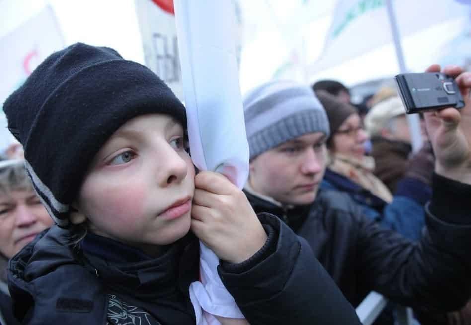 В России за вовлечение несовершеннолетних на митинги будут сажать в тюрьму