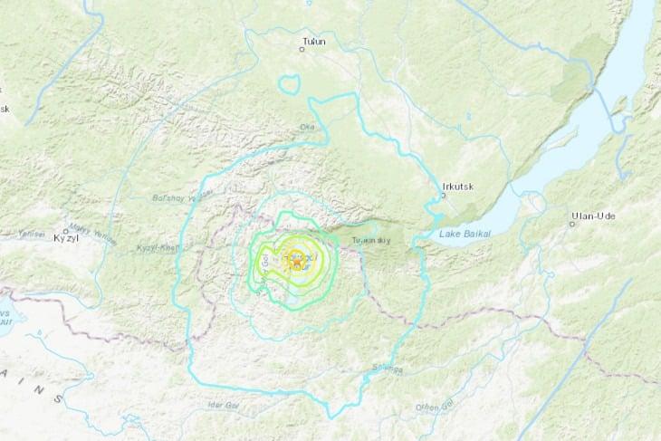 Жители Иркутской области почувствовали землетрясение утром 12 января 2021