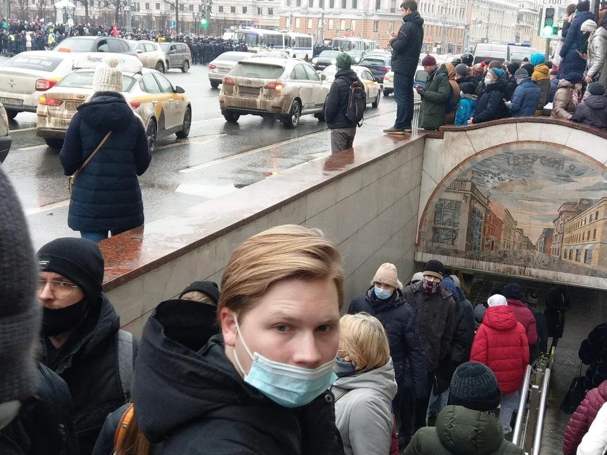 Акции за Навального прошли по всей стране: подробности