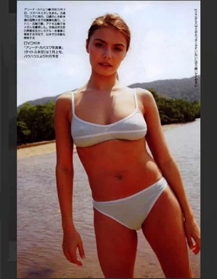 Старое фото Кабаевой в откровенном бикини вызвало бурю эмоций в соцсетях