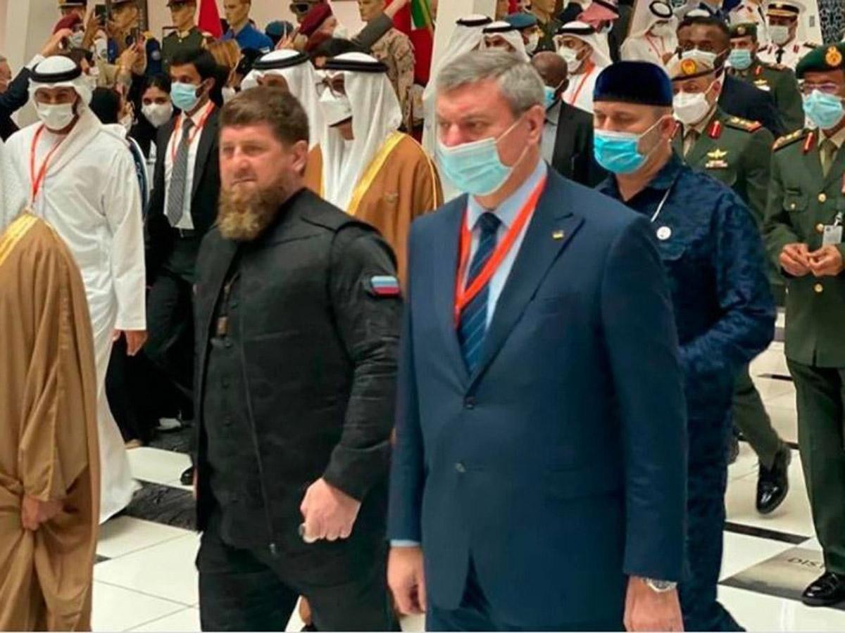 Скандал из-за совместного фото Кадырова с вице-премьером Олегом Уруским разгорелся на Украине