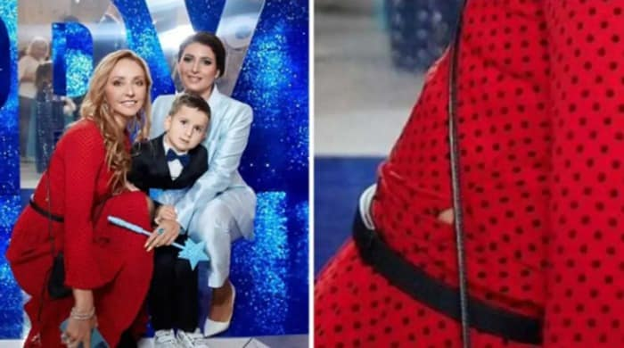 Татьяна Навка от души повеселилась на дне рождения дочери Жасмин