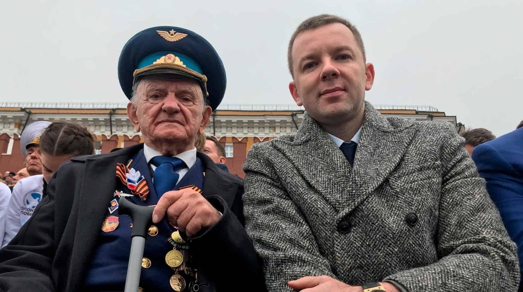 Внуку ветерана Игната Артеменко оскорбленного Навальным, поступают угрозы