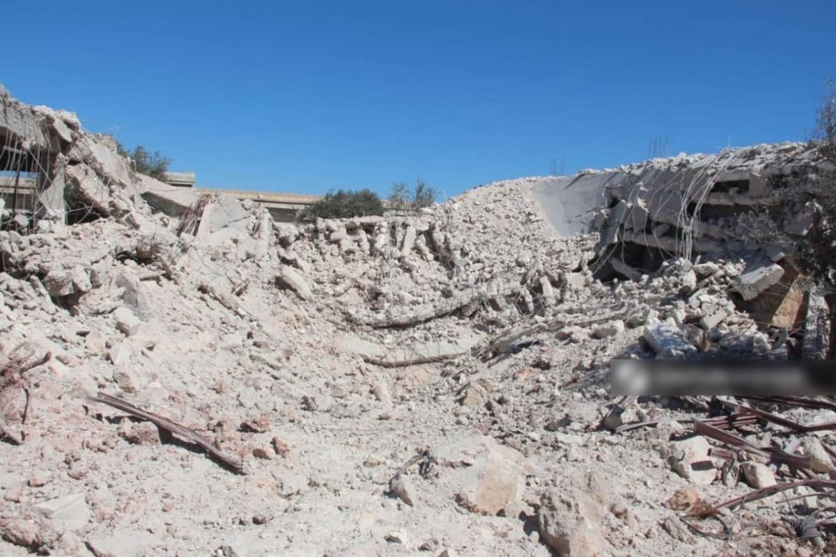 Российские ВКС уничтожили центр сирийских террористов мощным ударом