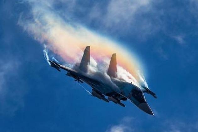 Огневые испытания авиапушек истребителей Су-57 вызвали фурор в сети