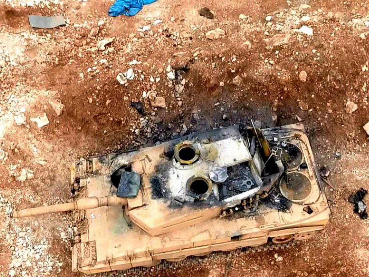 В Сирии российские танки Т-90 разгромили 20 турецких танков в открытом бою